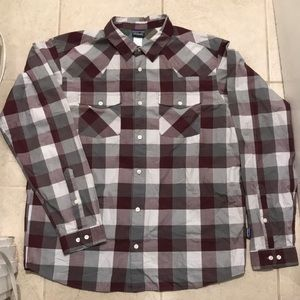 Patagonia Plaid Button Shirt
